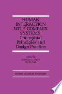 Human Interaction With Complex Systems Book PDF