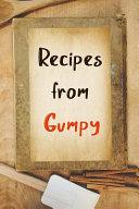 Recipes From Gumpy