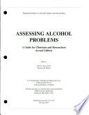 Assessing Alcohol Problems Book