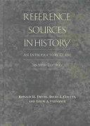 Reference Sources in History