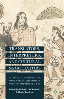 Translators, Interpreters, and Cultural Negotiators Pdf/ePub eBook