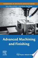 Advanced Machining and Finishing Book