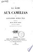 La dame aux camélias par Alexandre Dumas fils