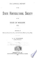 Report of the Missouri State Horticultural Society for the Year     Book