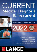 CURRENT Medical Diagnosis and Treatment 2022 Book PDF