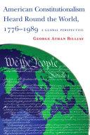 American Constitutionalism Heard Round the World, 1776-1989 Pdf/ePub eBook