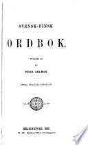Svensk-finsk ordbok