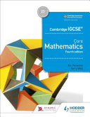 Books - Igcse Core Maths 4th Ed | ISBN 9781510421660