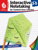 Interactive Notetaking for Content-Area Literacy, Levels 3-5