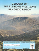 Geology of the Elsinore Fault Zone, San Diego Region