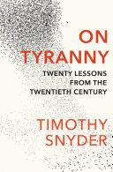 On Tyranny Pdf/ePub eBook