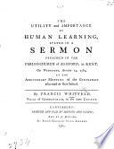 The Utility and Importance of Human Learning  Stated in a Sermon  on Prov  Xix  2   Etc Book