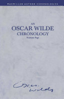 An Oscar Wilde Chronology