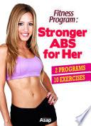 Fitness Program  Stronger Abs for Her Book