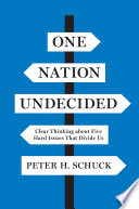 One Nation Undecided Book