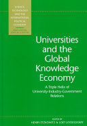 Universities And The Global Knowledge Economy Book PDF