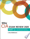 Wiley CIA Exam Review 2020  Part 3