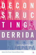 Deconstructing Derrida Pdf/ePub eBook