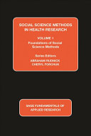 Social Science Methods in Health Research