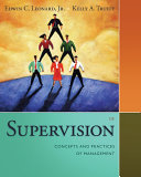 Supervision: Concepts and Practices of Management Pdf/ePub eBook