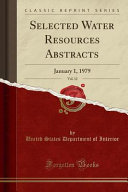 Selected Water Resources Abstracts  Vol  12