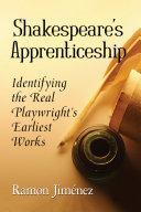 Shakespeare s Apprenticeship