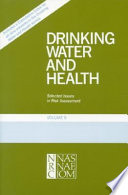 Drinking Water and Health, Volume 9