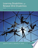 """Learning Disabilities and Related Mild Disabilities"" by Janet W. Lerner, Beverley Johns"