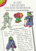 Pdf Scary Creatures Sticker Storybook