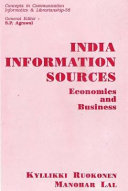 India Information Sources, Economics and Business