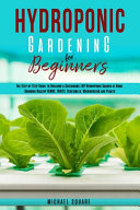Hydroponic Gardening for Beginners