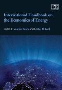 Pdf International Handbook on the Economics of Energy Telecharger