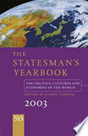 The Statesman s Yearbook 2003