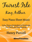Fairest Isle King Arthur Easy Piano Sheet Music [Pdf/ePub] eBook