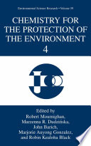 Chemistry for the Protection of the Environment 4 Book