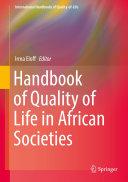 Handbook of Quality of Life in African Societies