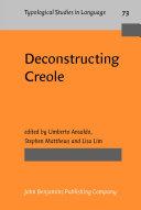 Deconstructing Creole [Pdf/ePub] eBook