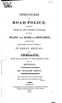 Pdf Strictures on Road Police,
