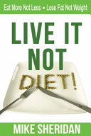 Live It Not Diet  Book