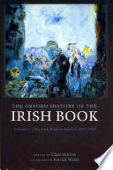The Oxford History Of The Irish Book Volume V
