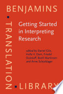 Getting Started In Interpreting Research