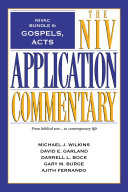 NIVAC Bundle 6  Gospels  Acts