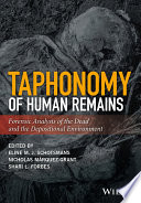 Taphonomy of Human Remains Book