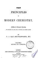 First principles of modern chemistry  a manual of inorganic chemistry Book