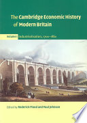 """The Cambridge Economic History of Modern Britain"" by Roderick Floud, Paul Johnson"