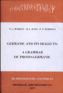 Germanic and Its Dialects