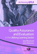 Quality Assurance and Evaluation in the Lifelong Learning Sector [Pdf/ePub] eBook