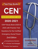 CEN Review Book and Study Guide 2020-2021