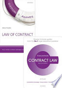 Contract Law Revision Pack 2015  : Law Revision and Study Guide
