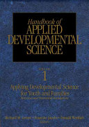 Handbook of Applied Developmental Science